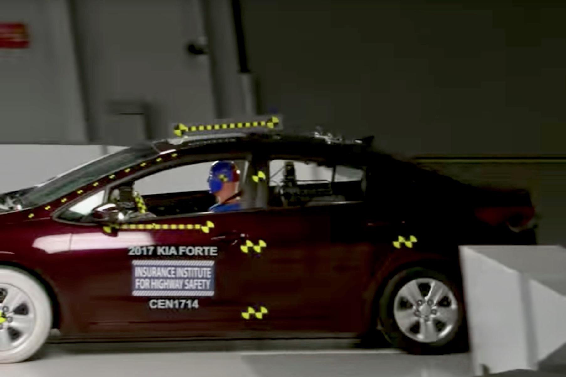 Kia Forte Shines in Crash Tests