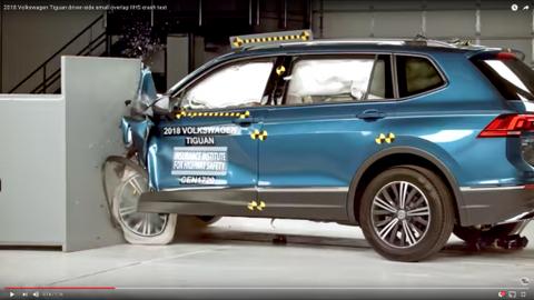 2018 Volkswagen Tiguan Crash Test