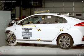 Hyundai Ioniq Hybrid Crash Test