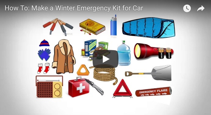 Packing a Winter Emergency Kit