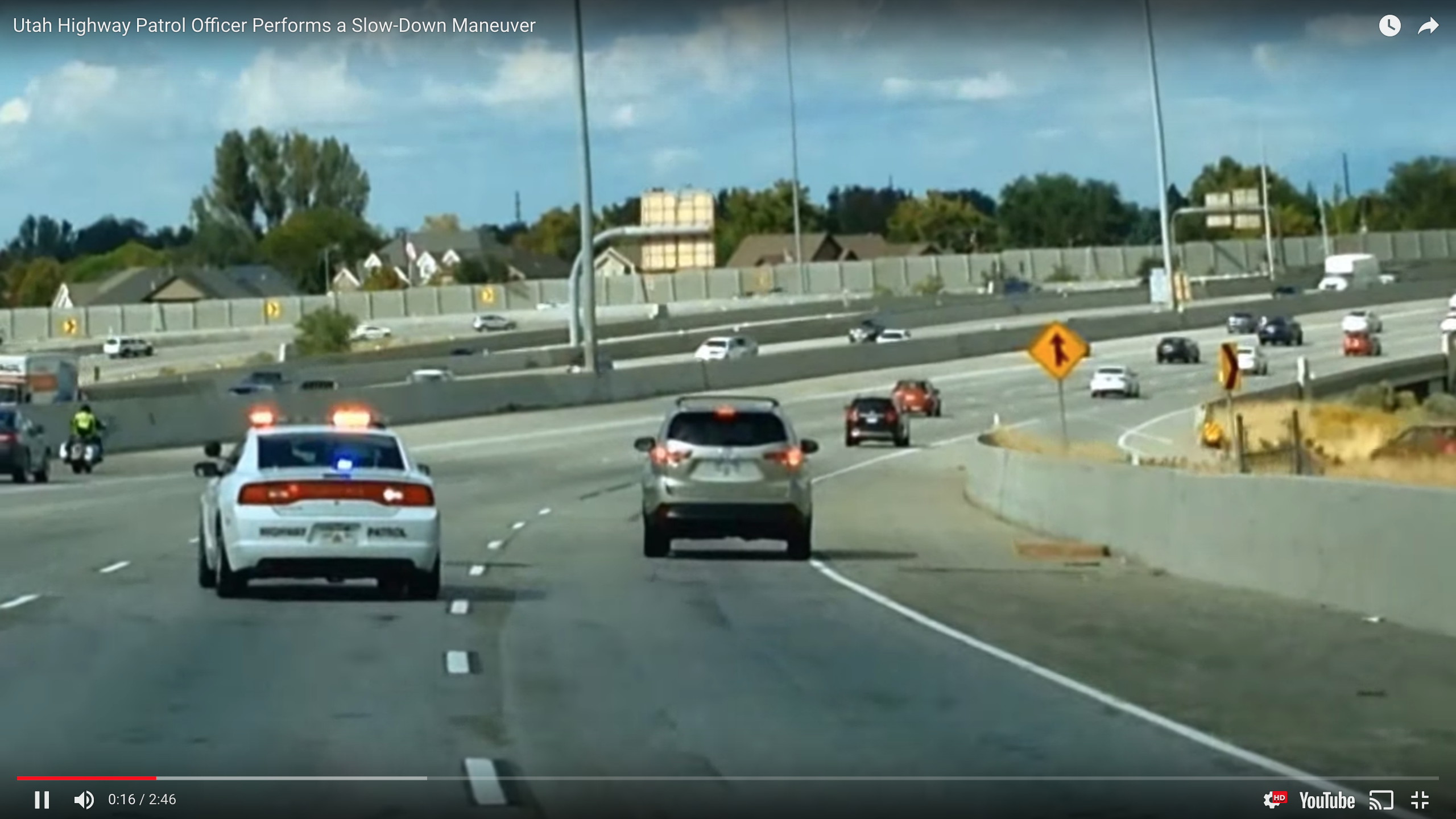 A Traffic Break in Utah