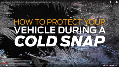 Protecting Your Vehicle During a Cold Snap