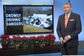 Drowsy Driving Risk Rises During Holidays