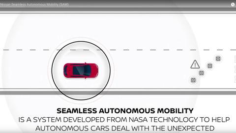 Nissan's Seamless Autonomous Mobility System