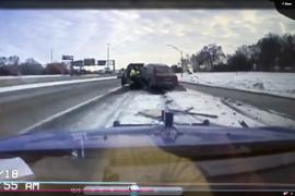 Mich. Tow Truck Crash