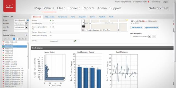 Verizon Networkfleet: Monitor Your Vehicle Diagnostics