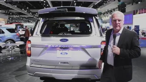 2018 Ford Expedition at the L.A. Auto Show