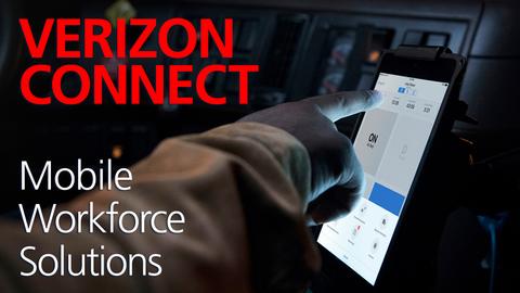 Verizon Connect's Mobile Workforce Solutions