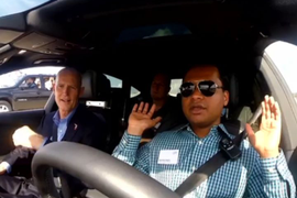 Audi's 'Piloted Driving' Demo