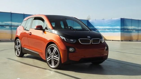 Driving the BMW i3 EV