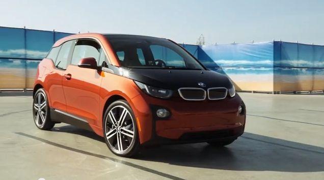 Driving the BMW i3 EV