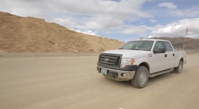 2015 F-150 Tested By Nevada Gold Mining Fleet