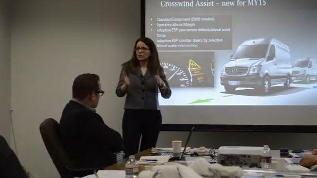 Mercedes-Benz Sprinter Van Presentation