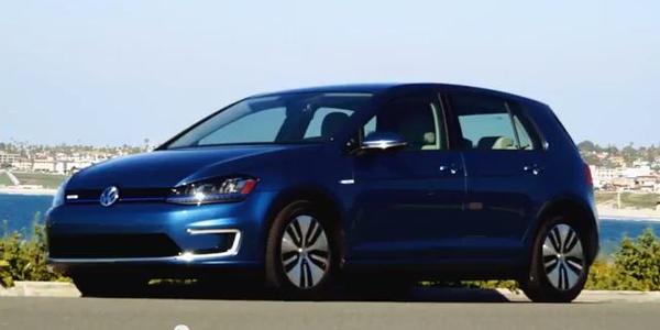 Driving the Volkswagen e-Golf