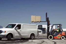 Nissan's NV Drift Van