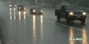 Driving on a Wet Road
