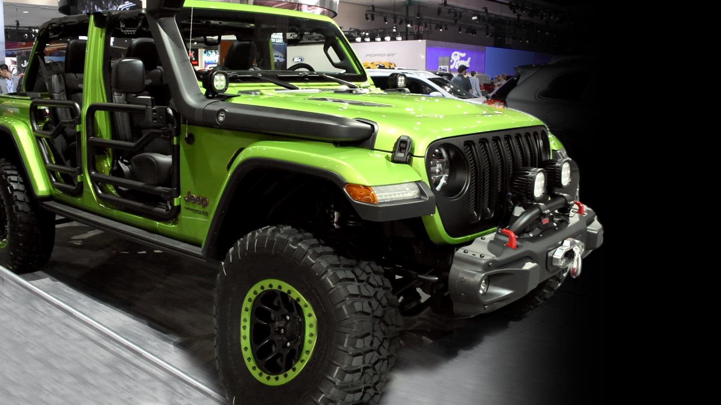 2018 Jeep Wrangler at the L.A. Auto Show