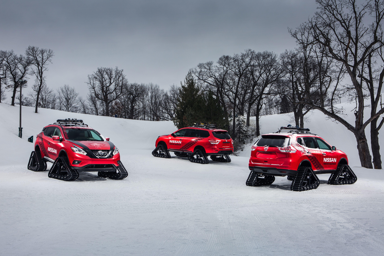 Nissan's 'Winter Warrior' Concepts