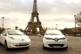 Renault-Nissan EV Shuttle at COP21