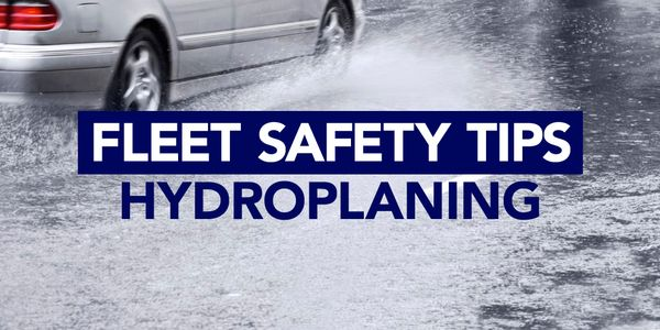 Here are tips for drivers about avoiding and recovering from a hydroplaning scenario.