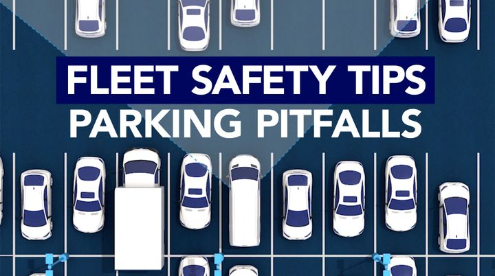 Navigating parking lots can be tricky. Here are four tactical tips. - Graphic by Kim Pham.