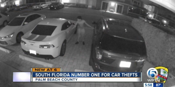 Many of South Florida's vehicle thefts could have been prevented if drivers ensured that the...