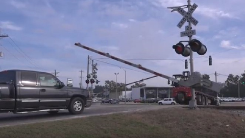Railroad Crossing Road Safety