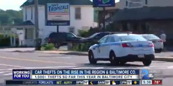 After an increase in vehicle theft and carjackings in Baltimore County and Baltimore, the...
