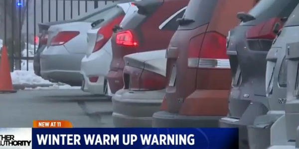 Leaving 'Warming Up' Cars