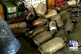 Video: Catalytic Converter Theft on the Rise