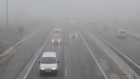 Follow these tips for driving in dense fog.