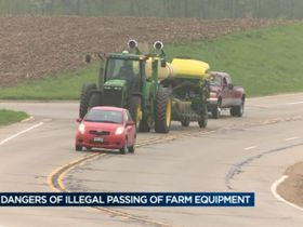 How to Safely Share the Road with Farm Equipment