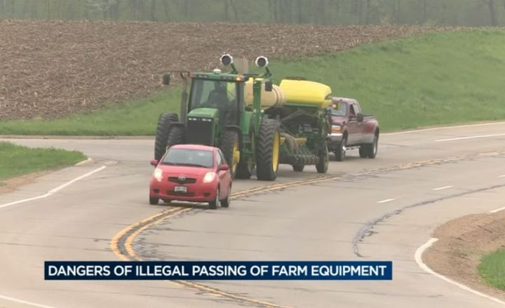 Farm equipment on rural roadways presents several hazards that fleet drivers need to be aware of.