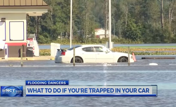 Fleet drivers can follow these five tips if they're caught in a downpour that causes flooding of roads.