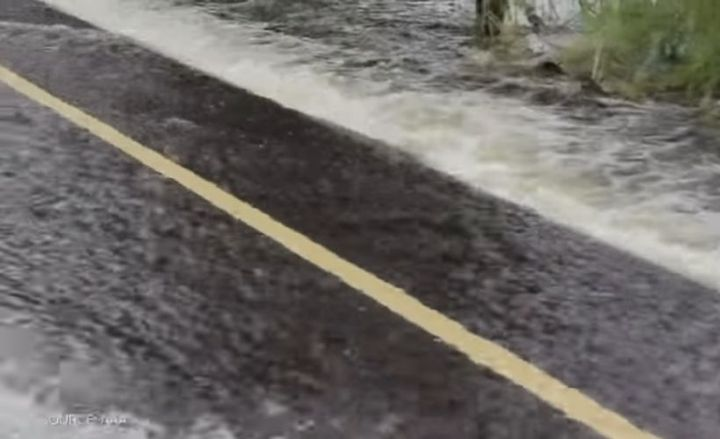 Heavy rain increases flooding on roads that can increase the risk of hydroplaning.