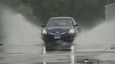 Recovering From Hydroplaning