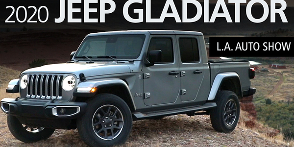 2020 Jeep Gladiator 4x4 Pickup Walkaround