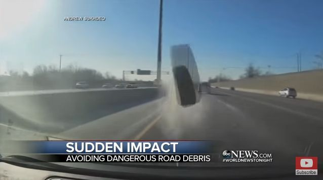 Here are four tips to pass along to fleet drivers to help them avoid accidents caused by road debris.