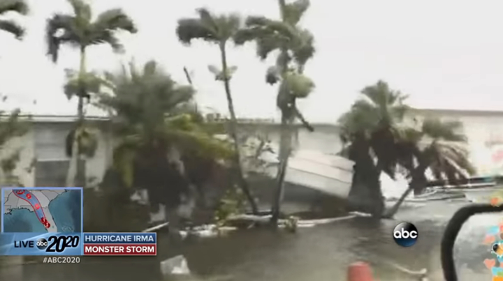 Fleets with vehicles in Florida can take precautions to minimize the impact of a hurricane on their personnel and vehicles.  - Screenshot via ABC News.
