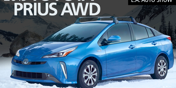 Toyota has introduced all-wheel drive with its 2019 Prius.