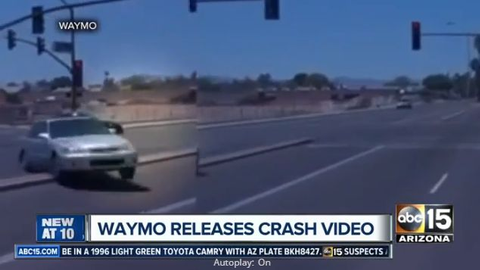 Waymo Crash in Arizona