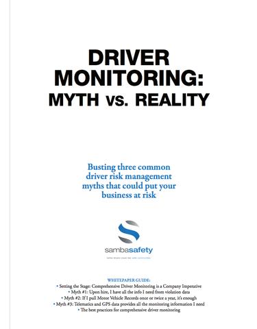 Driver Monitoring Myths vs. Reality