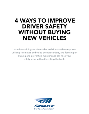 4 Ways to Improve Driver Safety Without Buying New Vehicles