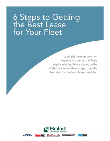 6 Steps to Getting the Best Lease for Your Fleet