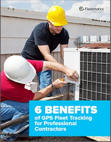 6 Benefits of GPS Fleet Tracking for Professional Contractors