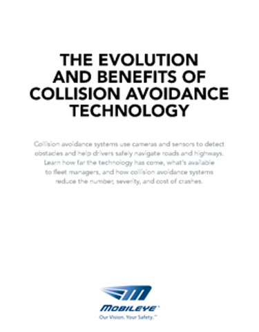 The Evolution and Benefits of Collision Avoidance Technology