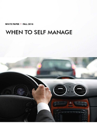 When Is Self-Managing Your Fleet the Best Option?