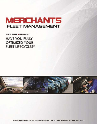 Have You Fully Optimized Your Fleet Lifecycles?