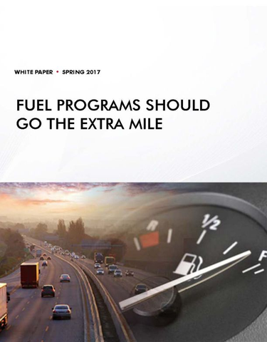 Fuel Programs Should Go the Extra Mile