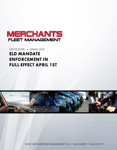ELD Mandate Enforcement in Full Effect April 1st